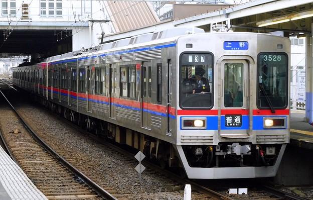 普通KS01上野 3500形3528F-3556F(1136レ)