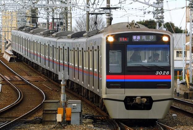 3000形3028F 普通KS10高砂(811K)
