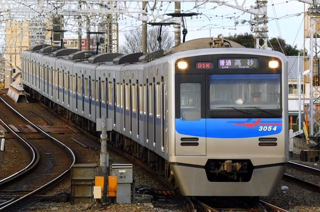 3050形3054F 普通KS10高砂(601K)