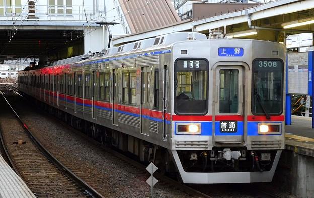 普通KS01上野 3500形3508F-3528F(504レ)
