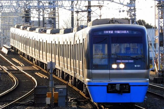 普通HS14印旛日本医大(1433N)北総9100形9108F