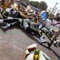 イラン…軍事パレード襲撃時の混乱…