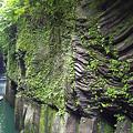 Photos: 高千穂峡 左奥が真名井の滝