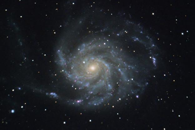 M101 回転花火銀河