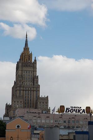モスクワの外務省ビル