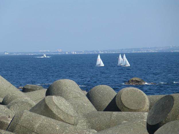 海とヨット@江ノ島20130428