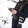 写真: 冬 空撮と風景撮影