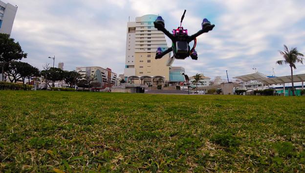 Photos: トイドローン離陸!
