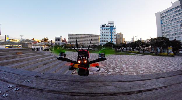 Photos: トイドローン離陸 2