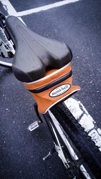 雨のサイクリング