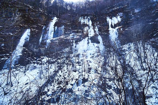 奥秩父の氷瀑