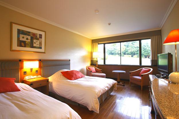箱根ハイランドホテル 客室「スタンダードツイン」