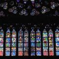 Photos: ノートルダム大聖堂のバラ窓