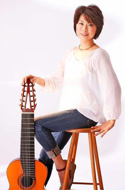 斎藤明子 さいとうあきこ 10弦ギター奏者 ギター奏者 ギタリスト  Akiko Saito