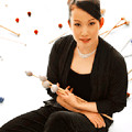写真: 横山晴子 よこやまはるこ マリンバ・打楽器奏者 パーカッショニスト   Haruko Yokoyama
