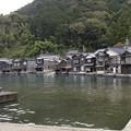 写真: 伊根の舟屋