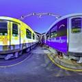 Photos: 静鉄長沼車庫 新型車両の新色追加に伴う撮影会 360度パノラマ写真(2)