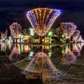 Photos: 青葉シンボルロード イルミネーション 360度パノラマ写真