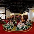 Photos: 岡部町 大旅籠柏屋 等身大ひな人形 360度パノラマ写真