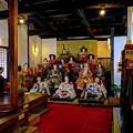 Photos: 岡部町 大旅籠柏屋 等身大ひな人形 (1)