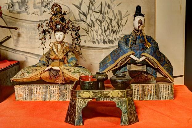 岡部町 大旅籠柏屋 江戸時代のひな人形(3)