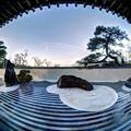 日本平 夢テラス 一階 枯山水風庭園