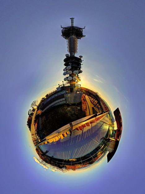 日本平 夢テラス 展望回廊 Little Planet