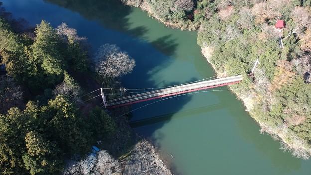 弁天橋(上空40mから)
