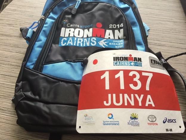 140606 Ironman Bag & BIB