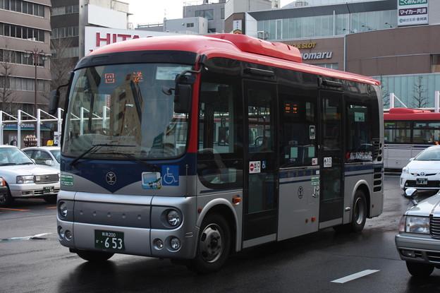 新潟交通 日野・ポンチョ 653号車
