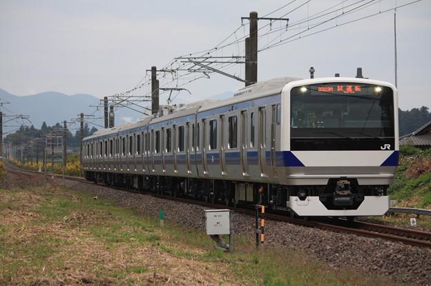 Photos: 試9323M E531系3000番台K551編成 性能確認試運転 (7)