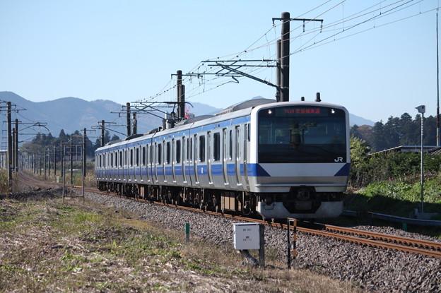 常磐線 E531系K459編成 741M 普通勝田行