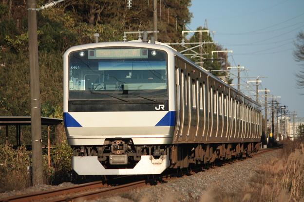 水戸線 E531系K461編成 754M 普通小山行