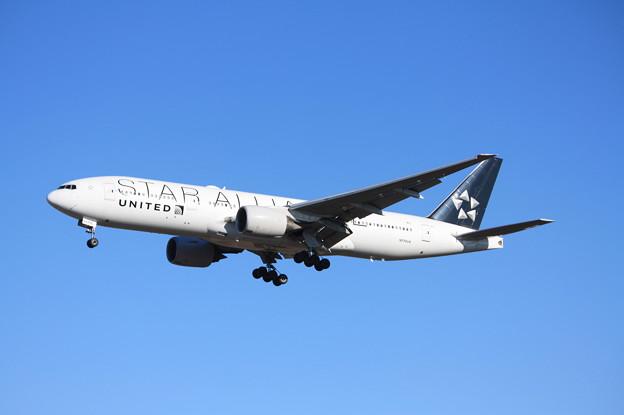 写真: ユナイデッド航空 ボーイング777-200 N794UA スターアライアンス塗装 (4)