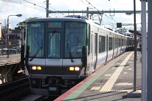 阪和線 223系2500番台 区間快速 天王寺 行