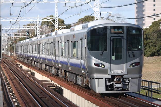 阪和線 225系5100番台 普通 鳳 行