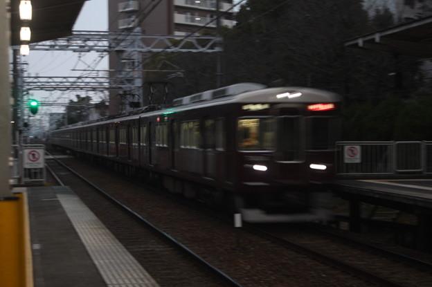 阪急京都線 7300系 特急 河原町 行 南茨木高速通過