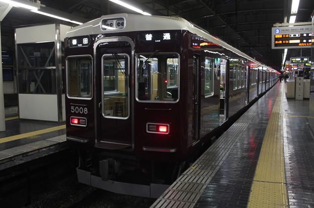 阪急神戸線 5000系5008F 普通 阪急梅田 行