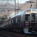 阪急神戸線 9000系9000F 普通 阪急梅田 行