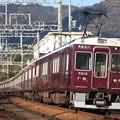 阪急神戸線 7000系7019F 普通 西宮北口 行 (1)