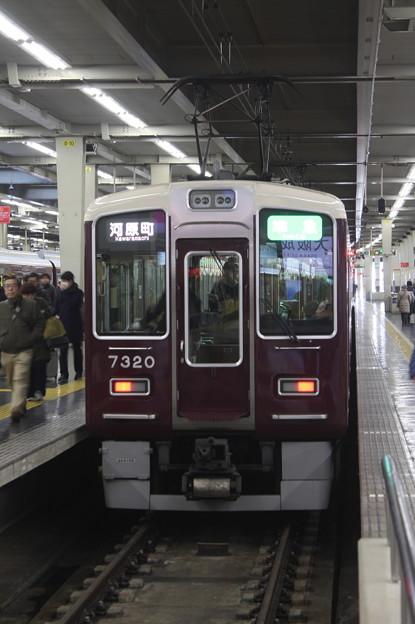 阪急京都線 7300系7320F 準急 河原町 行