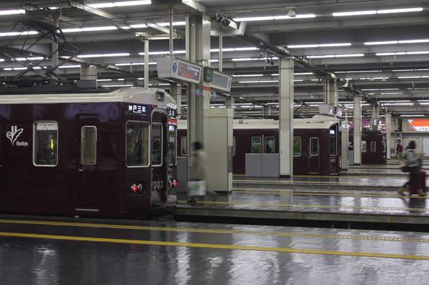 阪急電車 @梅田