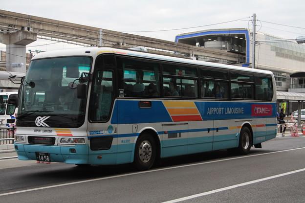 大阪空港交通 大阪200か1458