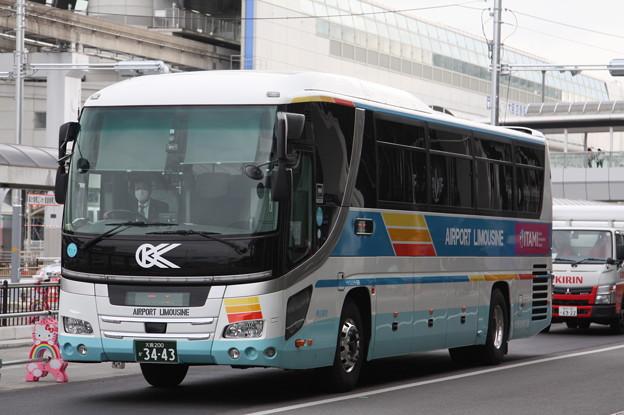 大阪空港交通 大阪200か3443