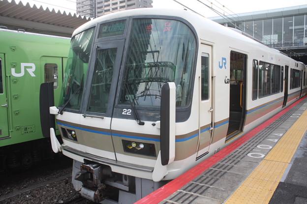 関西線 221系NA411編成 大和路快速 奈良 行