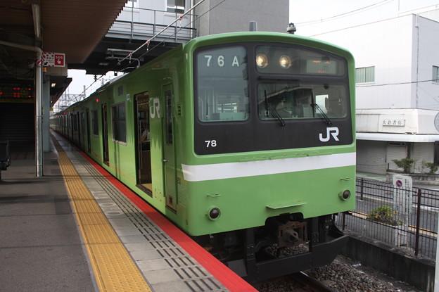 関西線 201系ND606編成 普通 王寺 行 (1)
