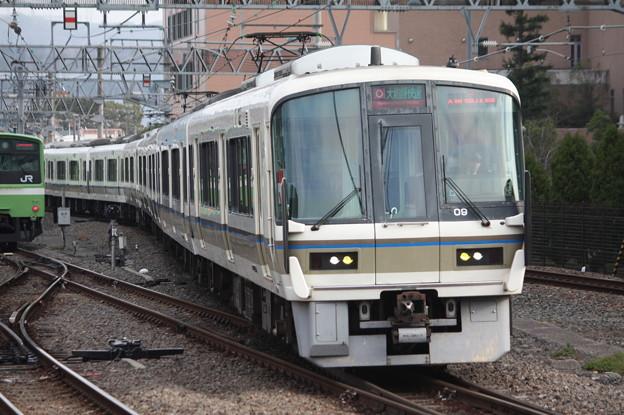 関西線 221系NA426編成 大和路快速 天王寺方面 行