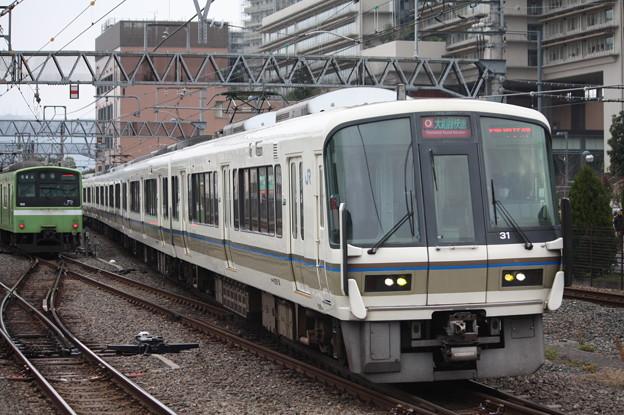 関西線 221系NB802編成 大和路快速 天王寺方面 行