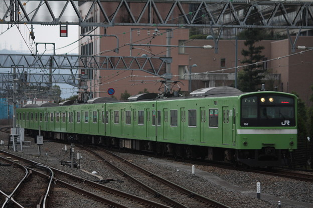 関西線 201系ND612編成 普通 JR難波 行