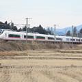 Photos: 冬の田園風景を行くE657系